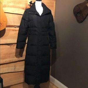 Calvin Klein Black Trench Puff Jacket